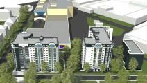 Перспектива строительства: Полтава, пл. Павленковская, 3б и 3а