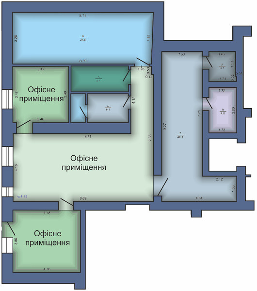 Офисное помещение №5