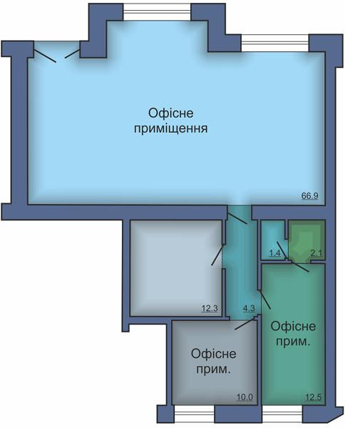 Офисное помещение №11
