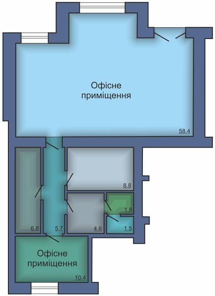 Офисное помещение №12