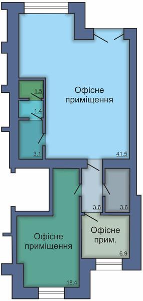 Офисное помещение №13